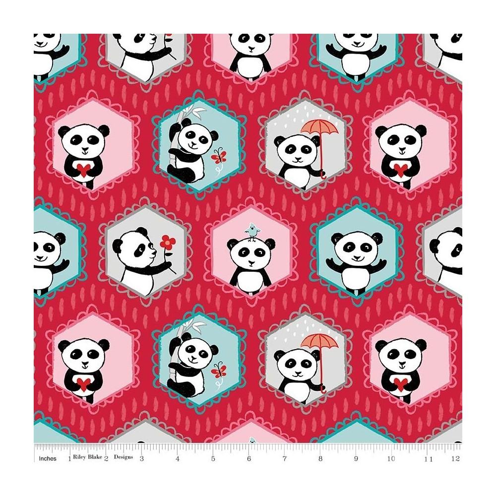 Panda Love - Panda su rosso
