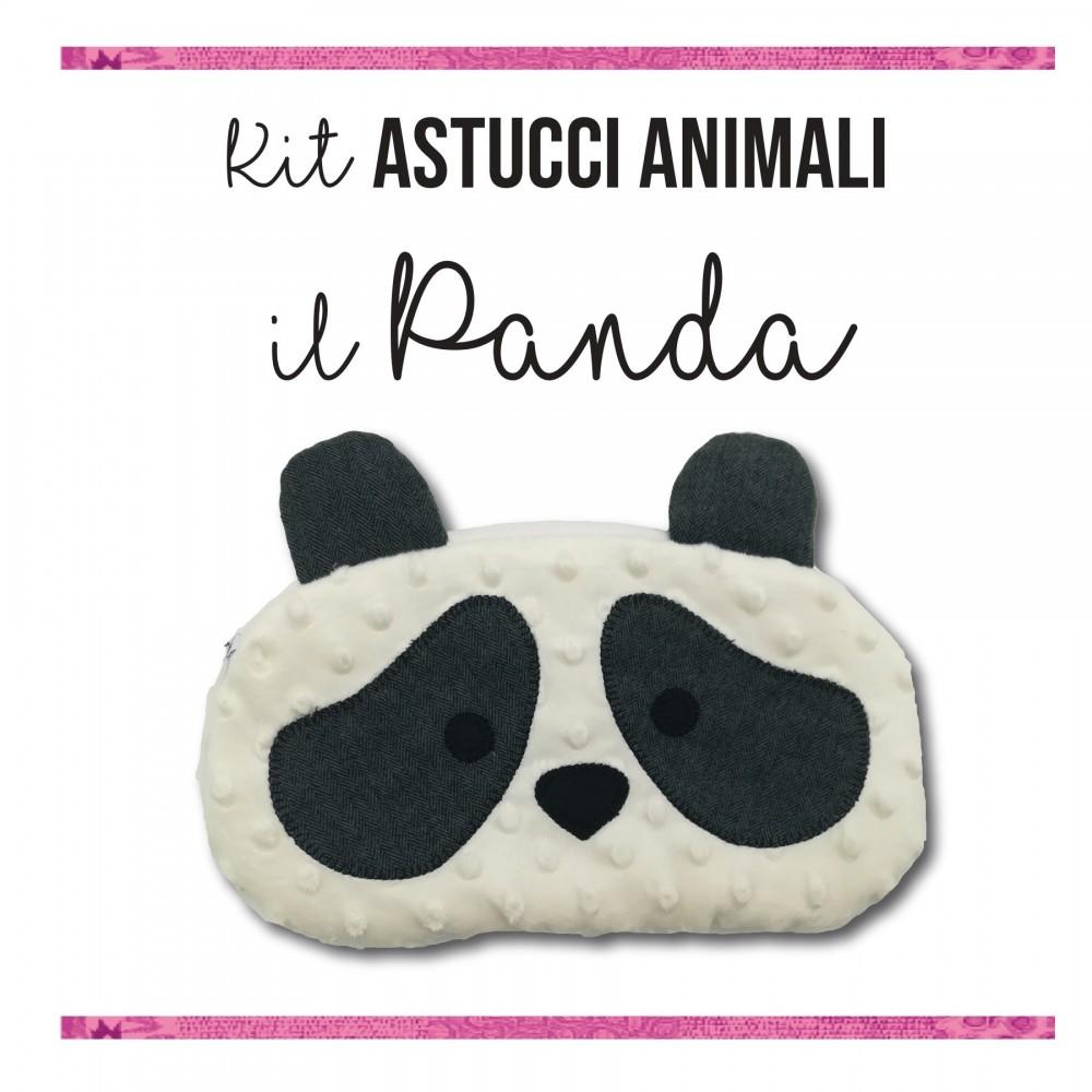 Kit astucci animali - Il panda