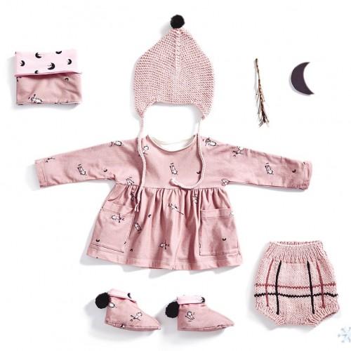 Cartamodello Katia 2319- B19 - Cartamodello Vestito + scaldacollo+stivaletti+Tricot: cappello e mutandina