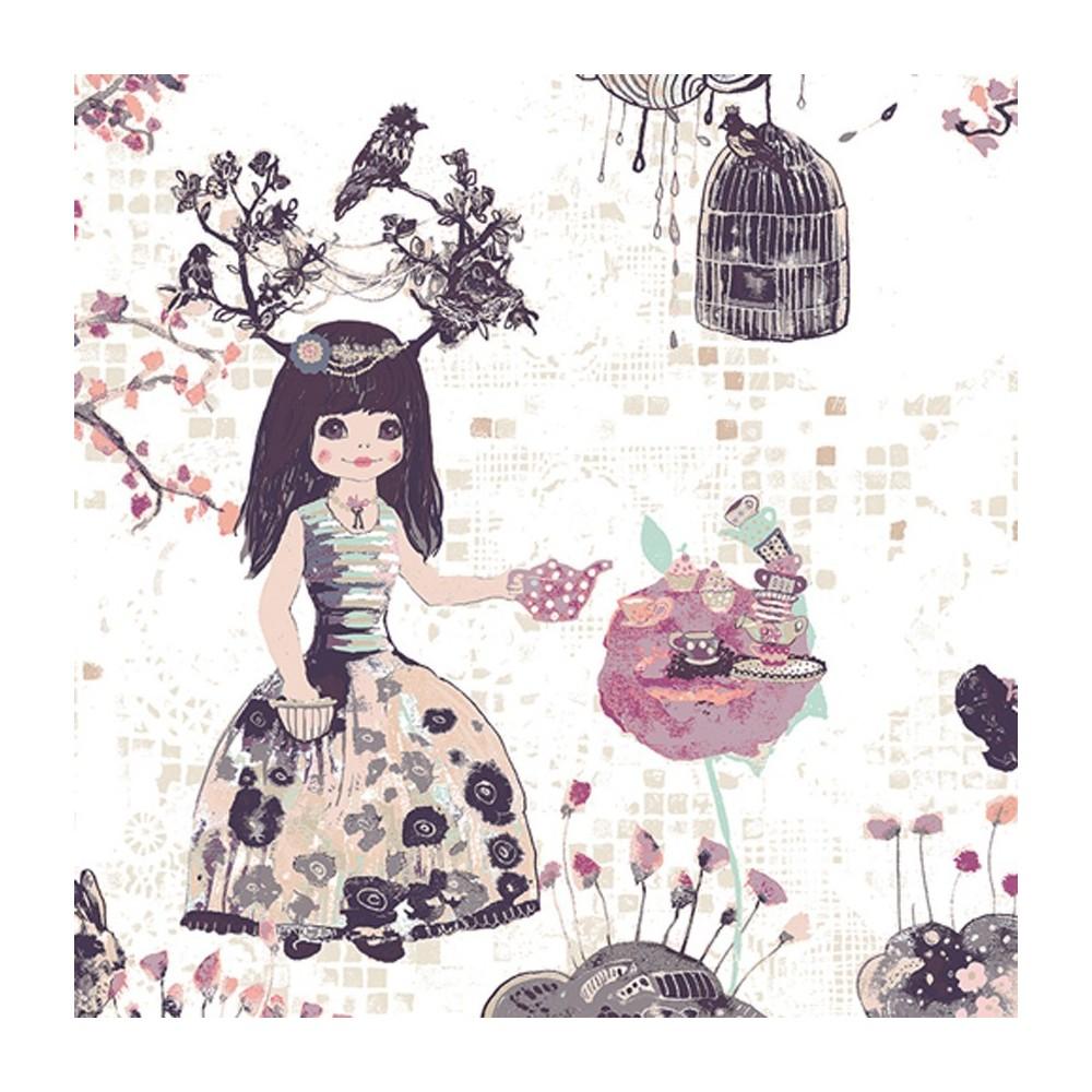 Wonderland - Alice multicolore