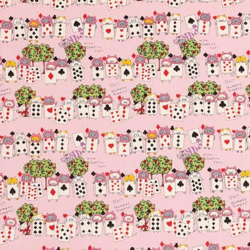 Canvas - Gattini di cuori su rosa